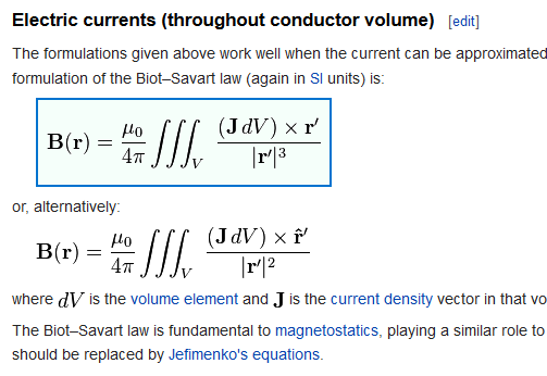 bs magnetics bio-savart laws 2